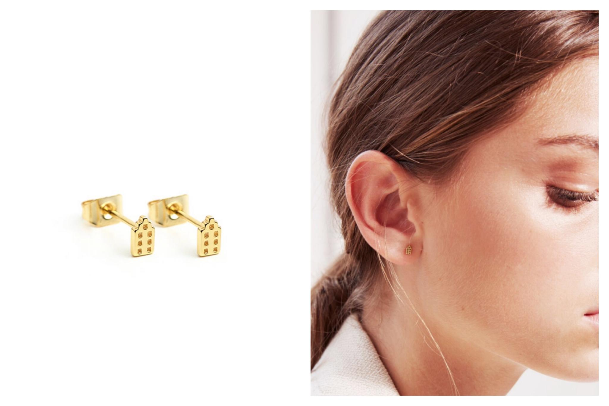 Amsterdam Canal Studs Earrings