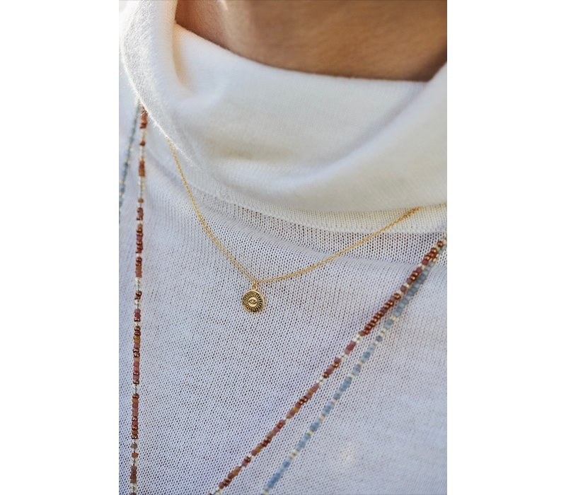 The Now Ketting Gold Plated