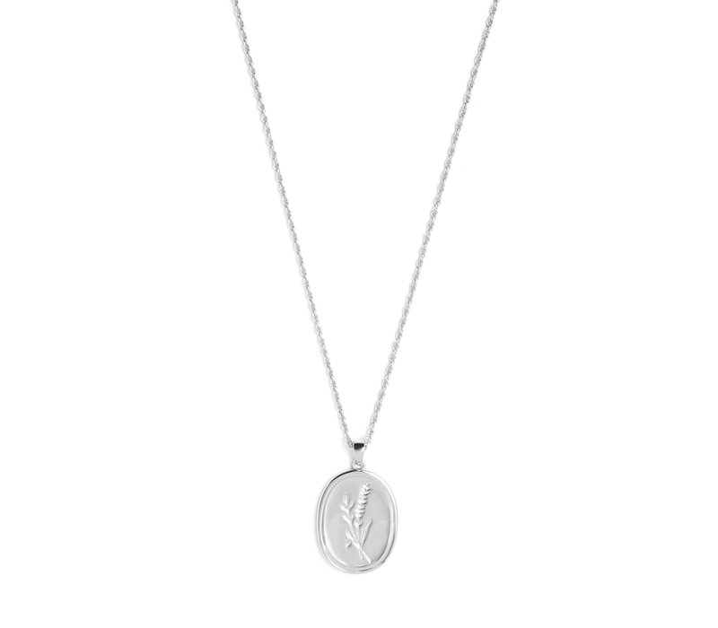 Bloom Necklace Silver Plated