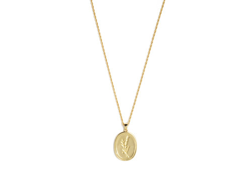 Bloom Necklace Gold Plated
