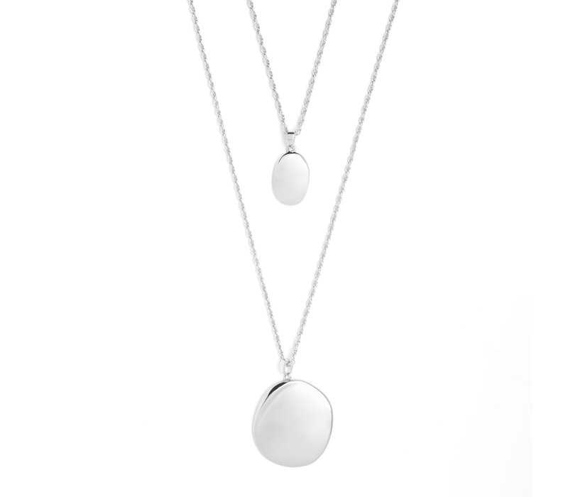 Connect Necklace Silver