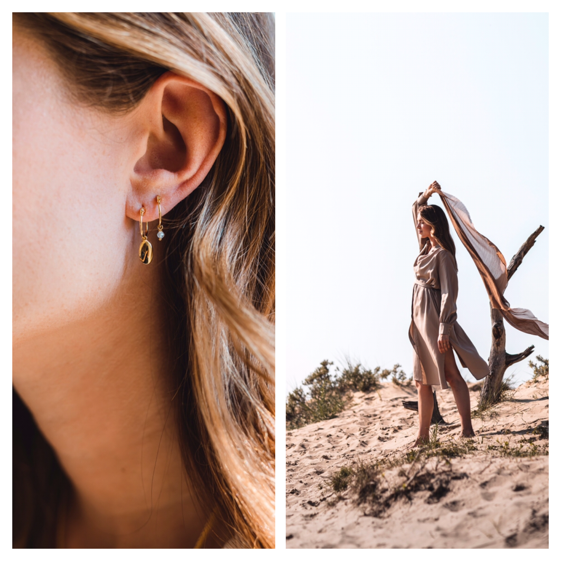 Dune earrings