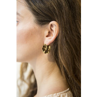 Coastal Hoops Gold Plated