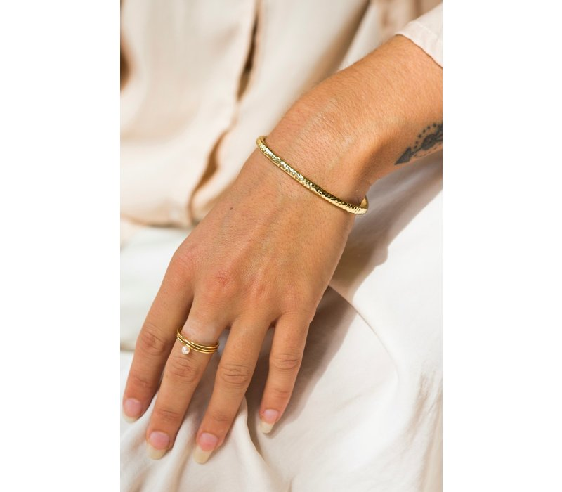Ocean Cuff Gold Plated