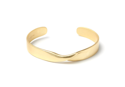 Aspire Cuff Gold Plated