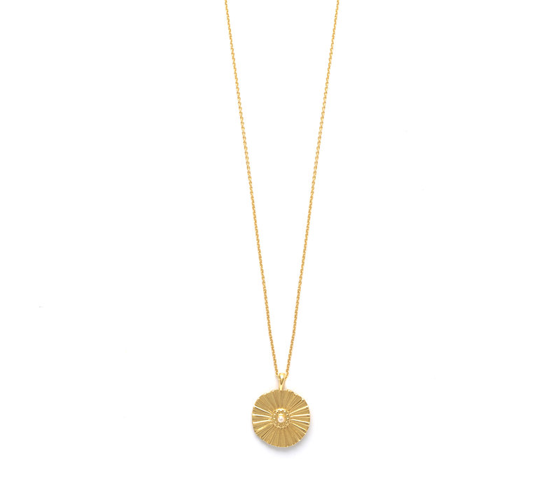 Flow Necklace Gold Plated