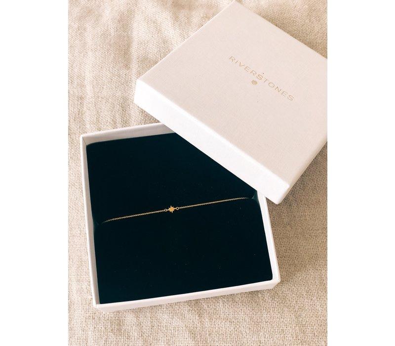 Star Bracelet 18krt Gold