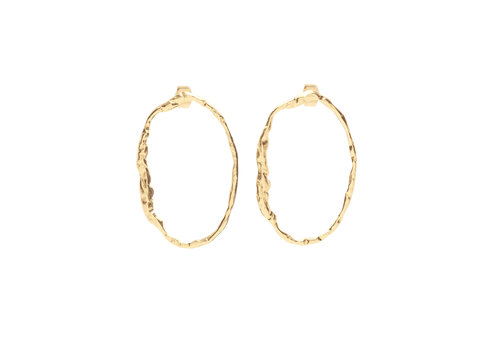 Muse Earrings Gold Plated