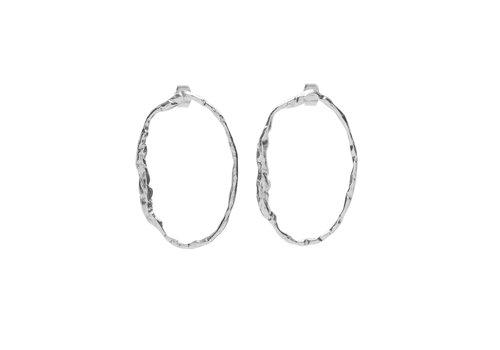 Muse Earrings Silver
