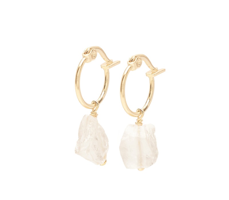 Esprit Hoops Gold Plated