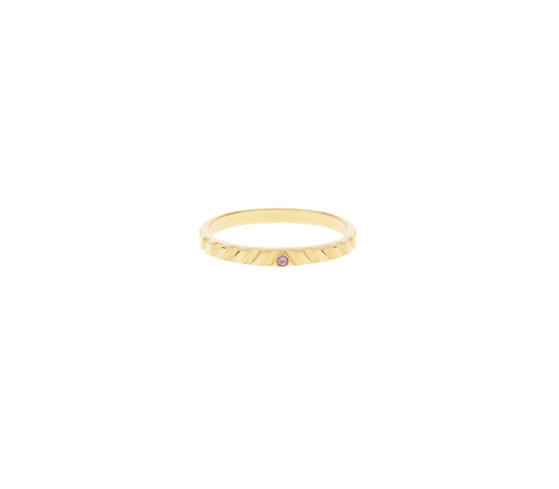 Peak Ring Verguld