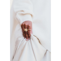 Peak Ring Gold Plated