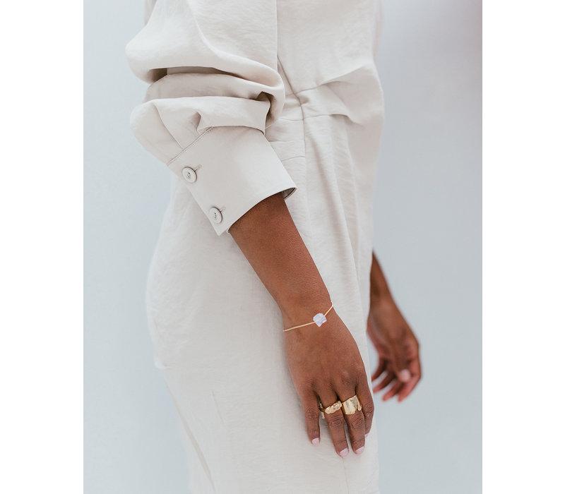 Gentle Bracelet Gold Plated
