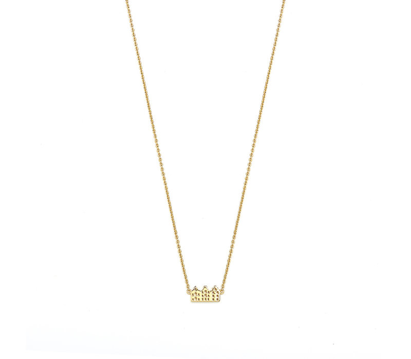 Canal Necklace 14k Responsible Gold