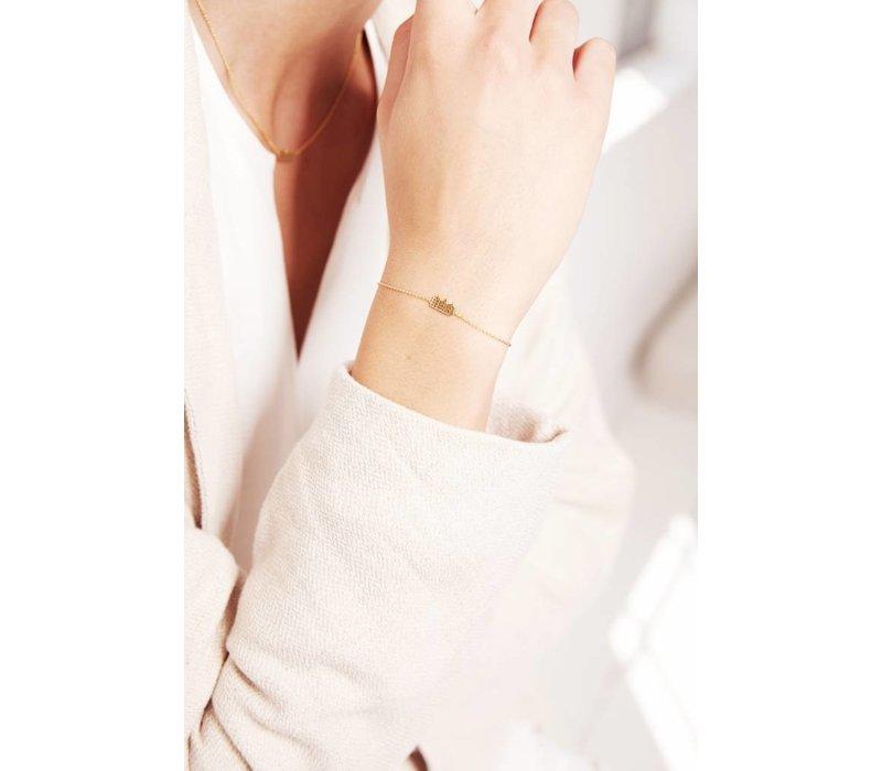 Canal Bracelet 14k Responsible Gold