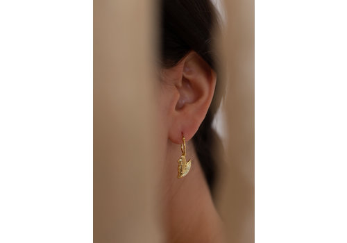Reflect Hoops Gold Plated
