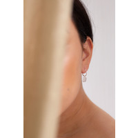 Esprit Hoops Silver Plated