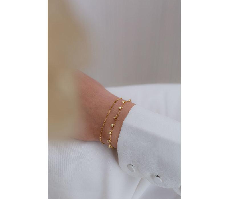 Balance Bracelet Gold Plated