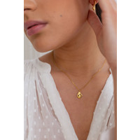 Pure Necklace 14K Responsible Gold (Personalized)