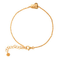 Heart Bracelet 14K Responsible Gold (Personalized)