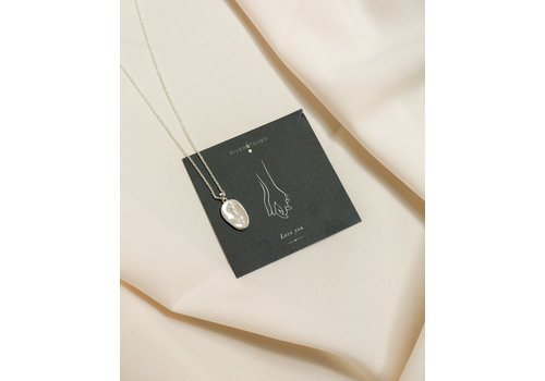 Adored Necklace Silver
