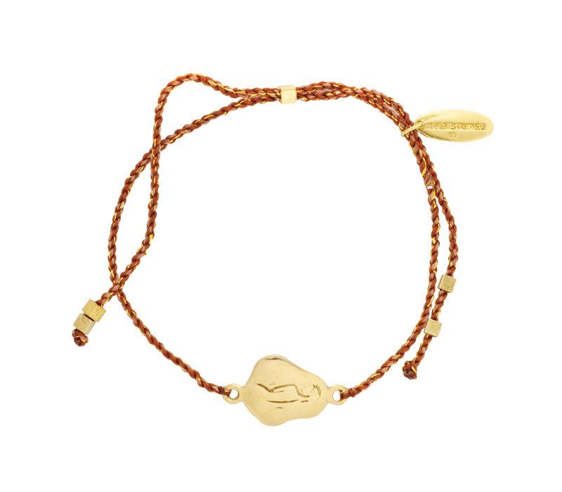 Care Bracelet Gold Plated