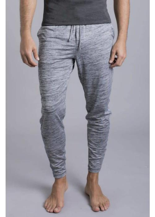 Ohmme Ohmme Dharma Yoga Pants - Heather Grey