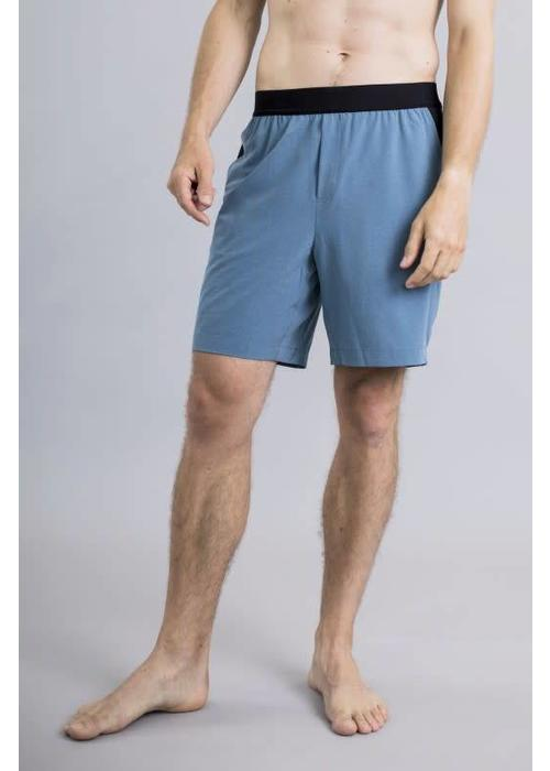 Ohmme Ohmme Eco Warrior I Yoga Shorts - Ocean