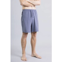 Ohmme Eco Warrior II Yoga Shorts - Slate