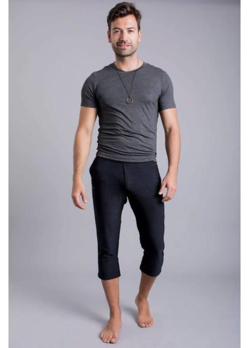 Ohmme Ohmme Namoustache Yoga Pants - Black