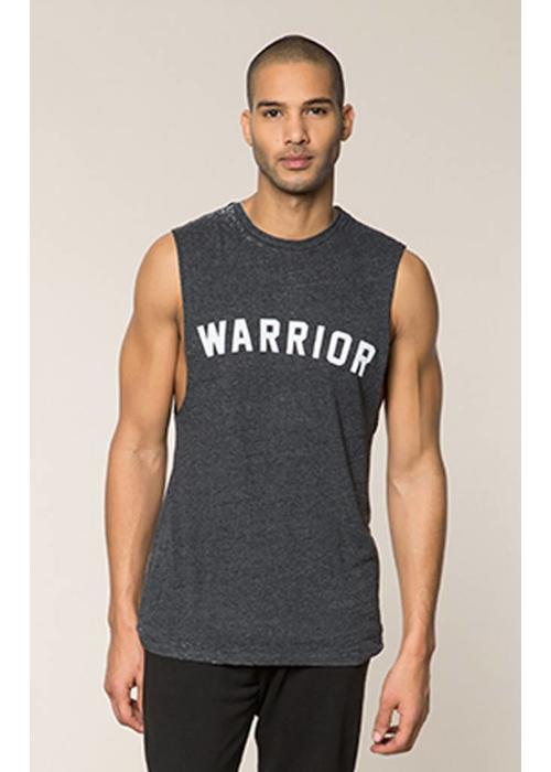 Spiritual Gangster Spiritual Gangster Men's Warrior Muscle Tank - Vintage Black
