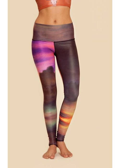 Teeki Teeki Yoga Legging - Clouds
