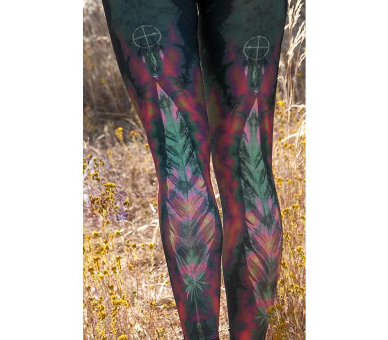 Teeki Yoga Legging - Eagle Feather