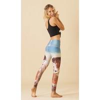 Teeki Yoga Legging - Unicorn Wrangler