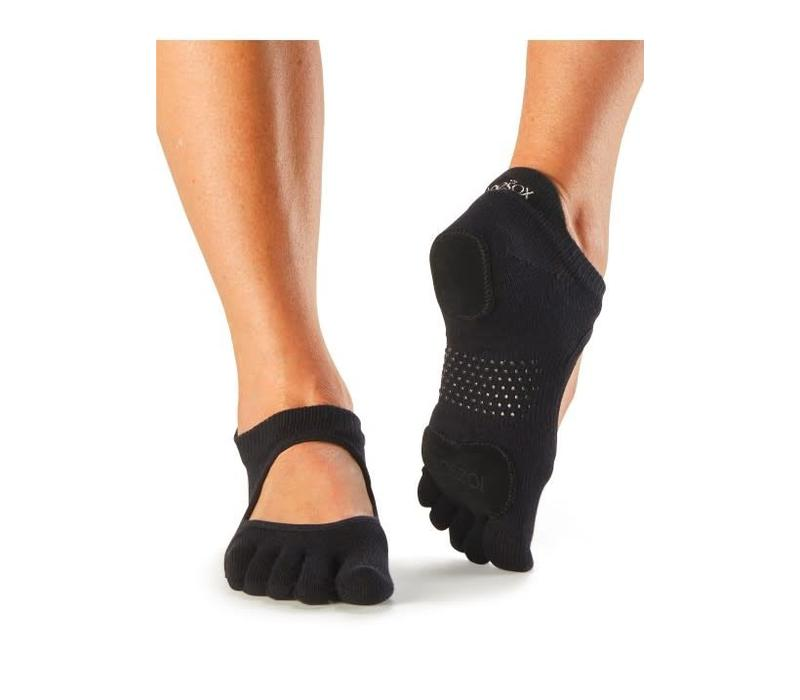 Toesox Prima Bellarina Full Toe - Black