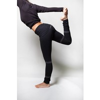 Urban Goddess Shunya Yoga Leggings - Urban Black / Charcoal
