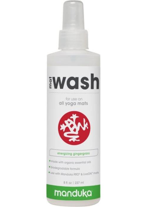 Manduka Manduka All Purpose Mat Wash 237ml - Energizing Gingergrass