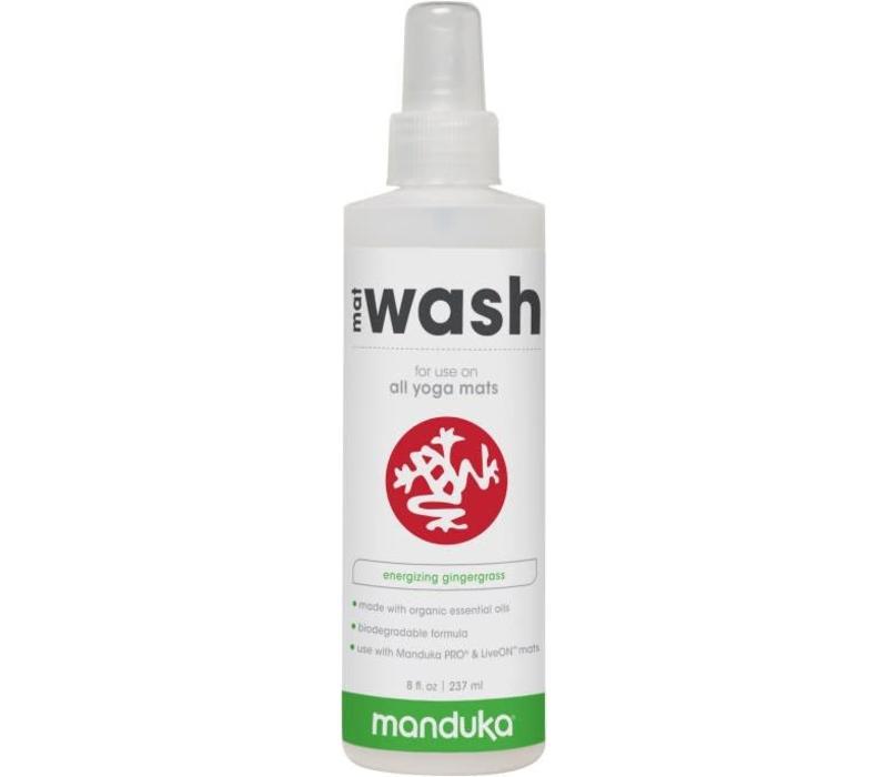 Manduka All Purpose Mat Wash 237ml - Gingergrass