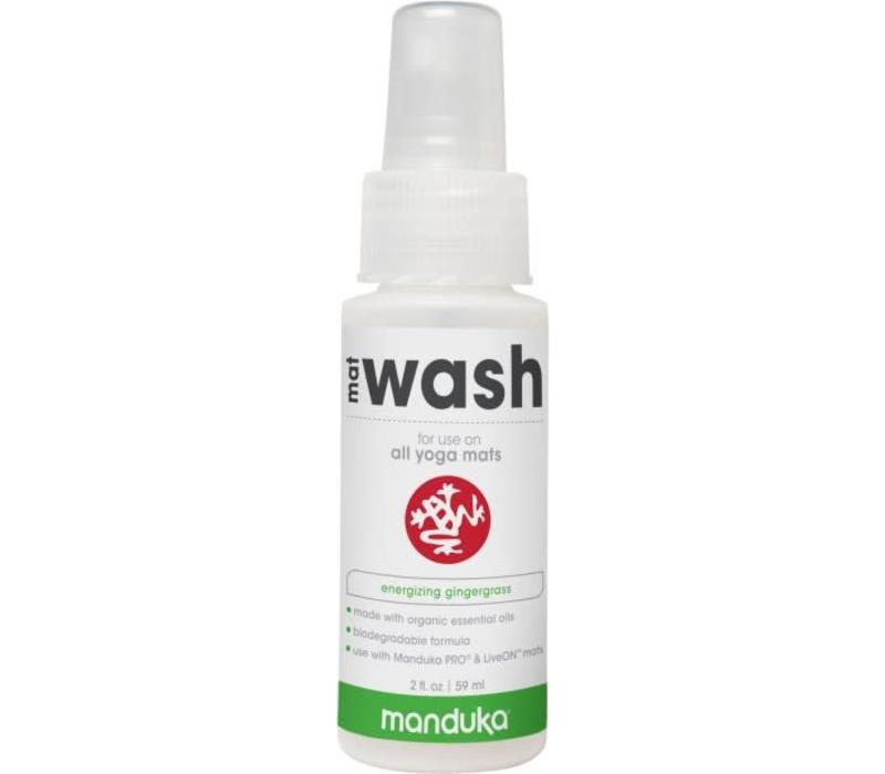 Manduka All Purpose Mat Wash 59ml - Gingergrass