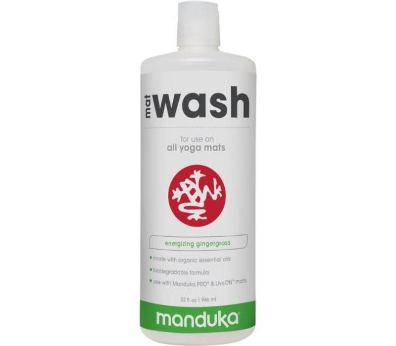 Manduka All Purpose Mat Wash 946ml - Gingergrass
