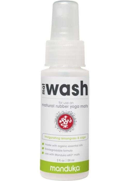 Manduka Manduka Natural Rubber Mat Wash 59ml - Invigorating Lemongrass & Sage