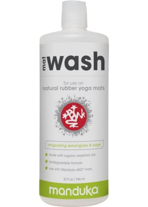 Manduka Manduka Natural Rubber Mat Wash 946ml - Invigorating Lemongrass & Sage