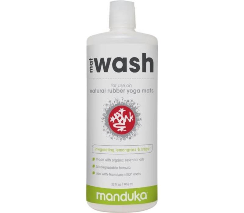 Manduka Rubber Mat Wash 946ml - Lemongrass & Sage