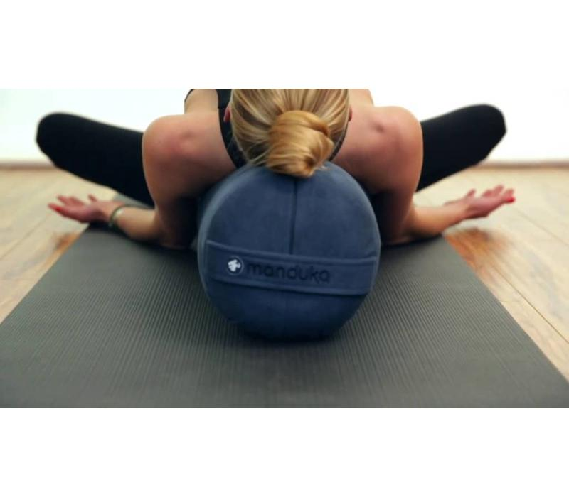 Manduka Yoga Bolster Round - Thunder