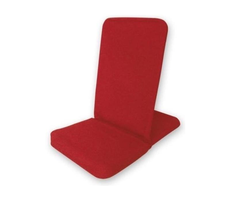 BackJack Meditatiestoel Opklapbaar - Rood