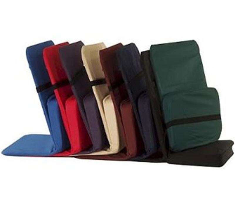 BackJack Meditation Chair Foldable - Burgundy