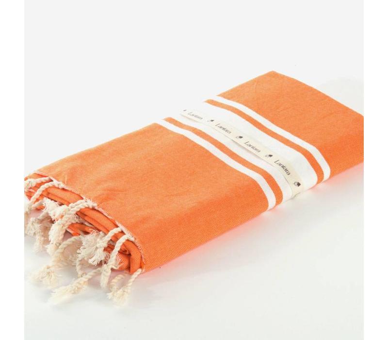 Fouta Omslagdoek - Berbère Oranje