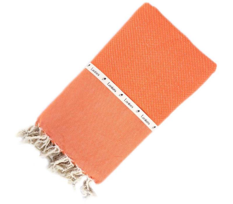 Fouta Shawl - Nid d'Abeille Orange