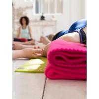 Yogadeken Fleece - Lichtgrijs