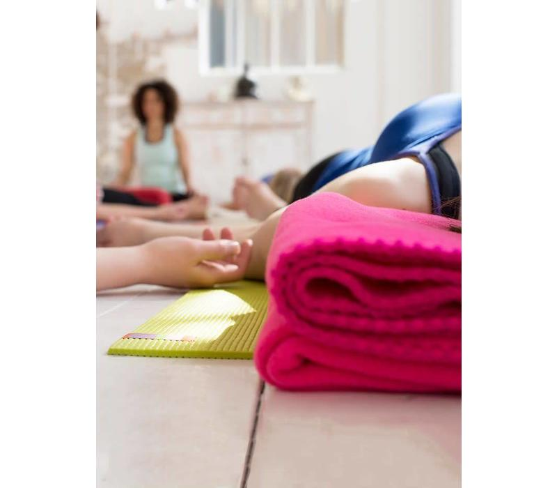 Yogadeken Fleece - Paars